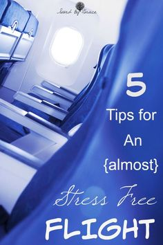 How to Have an Almost Stress Free Flight- Heading to the airport for the holidays or anytime? Check out these tips to have an almost stress free flight!