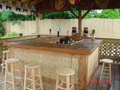Tiki Backyard Ideas tiki bar ideas for the backyard patio and pool area http Tiki Bar Backyard Builders Tampabay