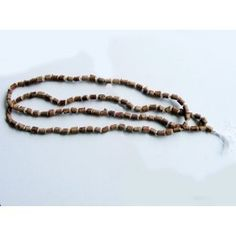 Japa Mala Tulsi Beads Hari Om Yoga Meditation Basil Prayer Japamala (108+1) Beads by Mogul Interior, http://www.amazon.com/gp/product/B008J99EG0/ref=cm_sw_r_pi_alp_0iWEqb1EQAHRZ