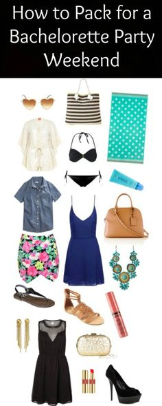 How to Pack for a Bachelorette Party Weekend