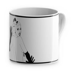 Burlesque Mug Peaches design inspiration on Fab.