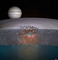Water Found On Jupiter's Moon Europa - Since Europa is the ordinary world that my Space Pirate Captain starts in, this is wonderful news for the potential future of the moon.
