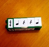an interesting idea for making rhythms match time signatures