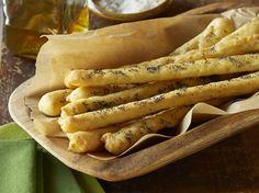 Gluten Free Garlic Herb Breadsticks