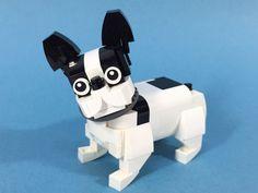 France Pulldog by ZiO Chao #LEGO #MOC #dog #cute #yearofthedog