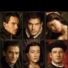 The Tudors! Watched the entire series one summer <3