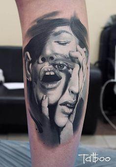 Surrealism Tattoos | Inked Magazine                                                                                                                                                                                 More