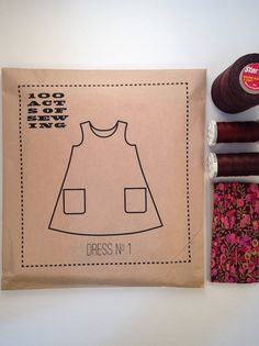 100 actes de couture : robe n ° 1 - patron de couture