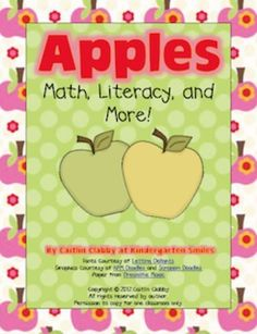 This unit has everything you will need to teach apples and Johnny Appleseed! It includes activities such as:-Apple Graphic Organizer-an organiz...
