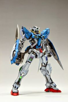 MG 1/100 Gundam Exia Painted Build - Gundam Kits Collection News and Reviews