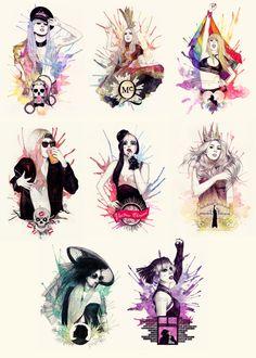 ♥Lady Gaga!♥ - lady-gaga Fan Art