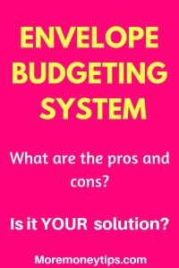 What are the pros and cons of the cash envelope system (CES)? Here are also the top tips for you to make the system a success and skyrocket your finances. Envelope Budget System, Cash Envelope System, Budgeting System, Budgeting Money, Money Tips, Money Saving Tips, Weekly Budget, Cash Envelopes, Budgeting Worksheets