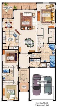 good floor plan for a small house. by meredith Dream House Plans, Small House Plans, House Floor Plans, My Dream Home, Building Plans, Building A House, Pole Barn Homes, House Blueprints, Bungalows