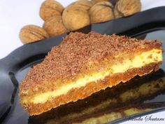 My Recipes, Dessert Recipes, Romanian Food, Romanian Recipes, Pastry Cake, Tiramisu, Muffin, Food And Drink, Sweets