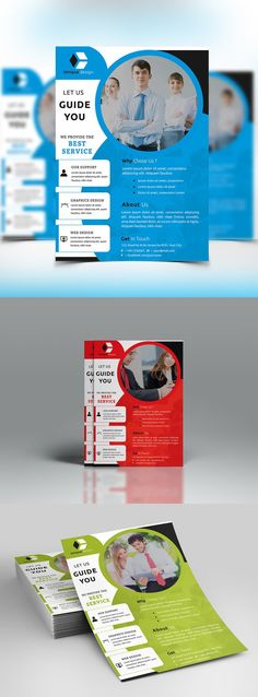 Corporate Flyer. Flyer Templates. $6.00