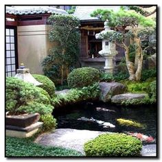 Maple Trees For Special Japanese Garden With Koi Pond For Inspiring Look : Small Japanese Garden Design Ideas Adding Beauty and Retreat Spot Pond Design, Diy Garden, Garden Cottage, Garden Landscape Design, Small Garden Design, Lawn And Garden, Garden Path, Border Garden, Asian Landscape