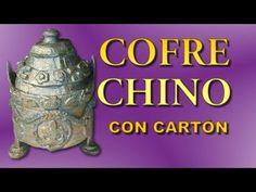 COFRE CON CARTÓN - YouTube