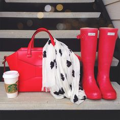 kate spade , hunter, starbucks