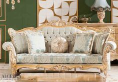 Give your home a classy and luxury look with our classic Turkish style furniture. Call ALGEDRA Trading & Furniture at 4 3639703 Table Furniture, Bedroom Furniture, Home Furniture, Bedroom Decor, Turkish Furniture, Royal Sofa, Love Seat, Create Your Own, Shabby
