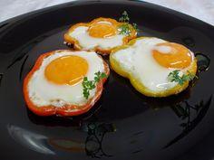 LA VERA  IN BUCATARIE: Mic dejun-Floricele din ou