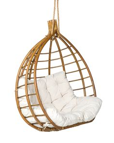 Hanging Hammock, Hanging Chair, Ikea, Relax, White Beige, Decoration, Beach House, House Design, Diy