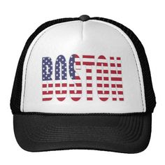 boston 4th of july hat