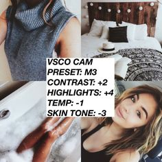 VSCO FILTERS FOR INSTAGRAM THEMES I came up with a few filters that I found to make very popular Instagram themes.If you like these filters and want to see more I'll post a part 2 at 500 likes!Like and share if you want to see a part 2! Thanks for checking my tip out ❤️