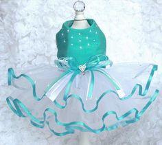 Tiffany Blue Swarovski & Silk Dress