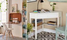 Woon je in een bescheiden appartement of klein huis? En wil je toch graag een toffe werkplek? Dan zijn deze 7 bureaus die amper plaats innemen écht iets voor jou.