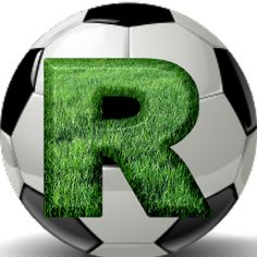 Alphabets by Mônica Michielin Soccer Party, Soccer Ball, R Letter Design, Happy Fathers Day Pictures, Monogram Alphabet, Lettering Design, Grass, Texture, Birthday