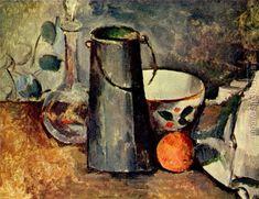 유 Still Life Brushstrokes 유 Nature Morte Painting by Paul Cezanne Cezanne Art, Paul Cezanne Paintings, Oil Paintings, Painting Still Life, Still Life Art, Monet, Cezanne Still Life, Maurice De Vlaminck, Dallas Museums