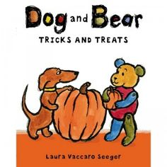 Dog and Bear Tricks and Treats is a 32-page Halloween book featuring three short stories for ages 3-7.