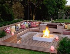 Around the Fire: Outdoor Décor