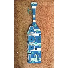 Made my first paddle for my big! #adpi #paddle
