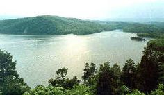 A view of Raystown Lake, PA.  We will be swimming here this summer.  We've yet to see their Loch Ness monster.