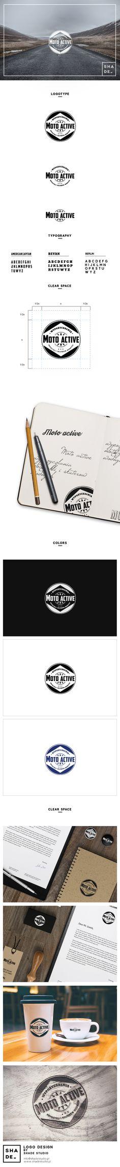 Moto Active Logo Design