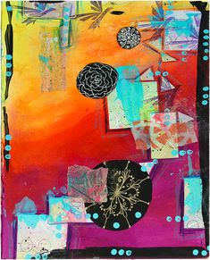 Learn about The Greatest Gift and more. Barb shows you a beautiful gift book, two Inspiration Decks and how to use them on a mixed media art journal page.