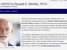 Lectures on ADHD by Russell A. Barkley, Ph.D.