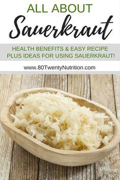 Sauerkraut Health Benefits  80 Twenty Nutrition  Christy Brissette, MSc, RD