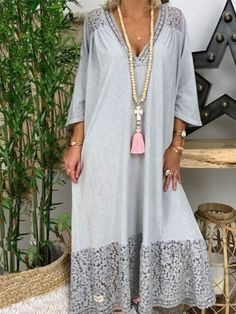 Stylish Outfits For Women Over 50, Summer Outfits Women, Abaya Fashion, Boho Fashion, Fashion Outfits, Plus Size Maxi Dresses, Casual Dresses, Estilo Abaya, Kaftan Designs