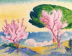 Henri-Edmond Cross - Pink Spring