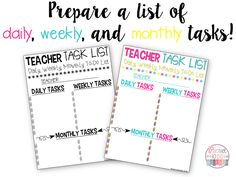 You MUST READ these 10 Time Saving Tips for Teachers! They will help you save time and get organized! You MUST READ these 10 Time Saving Tips for Teachers! They will help you save time and get organized! Teacher Planner Free, Teacher Freebies, Teacher Binder, Teacher Organization, Teacher Resources, Teacher Tips, Teacher Stuff, Teaching Ideas, Student Book Boxes