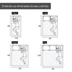 Cama - Bed Antropometria - Ergonomy