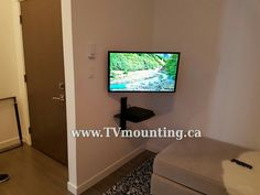 Elegant TV Installation White Rock, 32 Inch No Wires Visible TV Mounting Vancouver