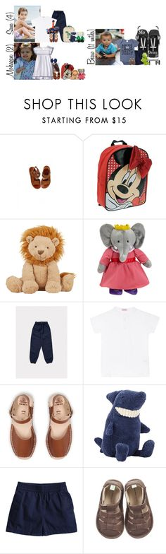 """""""Wednesday // School, Little Ones Play Date & Activities Privates // 6.7.17"""" by graywolf145 ❤ liked on Polyvore featuring Disney, Jellycat, Yottoy, La Coqueta and GrayWolfFamily"""