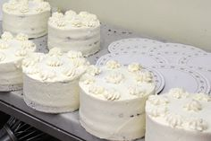 This is what black forest cakes look like before they get their famous chocolate curls and shavings! Chocolate Curls, Pink Chocolate, Famous Chocolate, Black Forest Cake, Lemon Coconut, Chocolate Shavings, Cake Tasting, Cake Flavors, Toffee