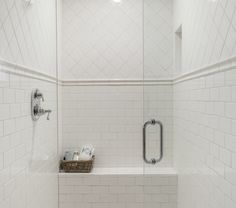 4x4 tile on brick pattern with dark grout -rafterhouse