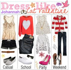 How to dress like: Cat Valentine from Victorious Cat Valentine Outfits, Sexy Cat Costume, Cat Valentine Victorious, Victorious Cat, Outfits Inspiration, Buy Halloween Costumes, Nerd Fashion, Fashion Addict, Style Fashion