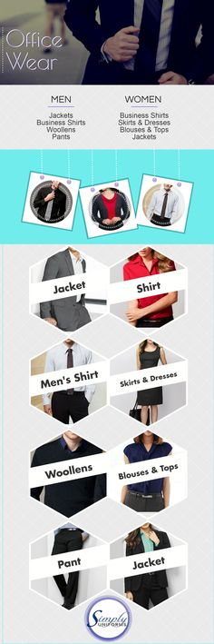 12d4b164416da At Simply Uniforms we offer a wide range of office wear- from business  shirts