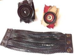 bracciale/bracalet di Stile Pelle su DaWanda.com